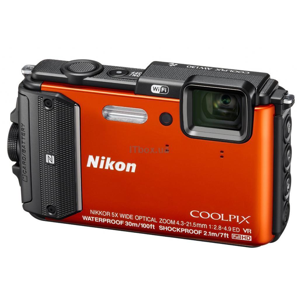 Фотоаппарат Nikon AW130 Coolpix Blue