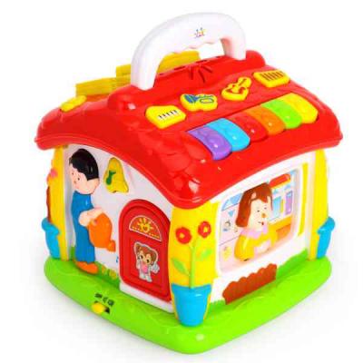 Развивающая игрушка Huile Toys Обучающий домик (656)