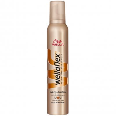 Пена для волос WellaFlex Кудри и Локоны Сильная фиксация 200 мл (4056800797448)