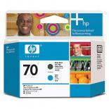 Печатающая головка HP No.70 Matte Black and Cyan Фото