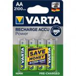 Аккумулятор Varta AA Long Life Accu 2100mAh * 4 NI-MH (READY 2 USE) Фото