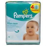 Влажные салфетки Pampers Baby Fresh Clean Quatro (3 + 1) x64шт Фото