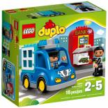 Конструктор LEGO Duplo Town Полицейский патруль Фото