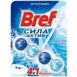 Туалетный блок Bref Сила Актив Океанская свежесть 50 г Фото