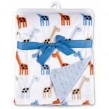 Одеяло Luvable Friends двухстороннее  для мальчиков Фото