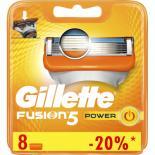 Сменные кассеты Gillette Fusion Power 8 шт Фото 1