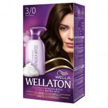 Краска-мусс для волос Wellaton стойкая 3/0 Темный Шатен Фото
