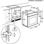 Духовой шкаф ELECTROLUX OPEA 7553 X Фото 1