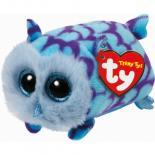 Мягкая игрушка Ty Teeny Ty's Голубая Сова Mimi 12 см Фото