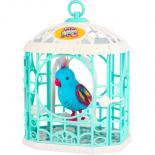Интерактивная игрушка Moose Little Live Pets Птичка в клетке Радужный Рикки Фото