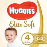 Подгузник Huggies Elite Soft 4 (8-14 кг) 132 шт Фото