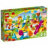 Конструктор LEGO Duplo Большой парк аттракционов Фото