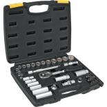 Набор инструментов Topex сменных головок и насадок 3/8, 39 шт. Фото