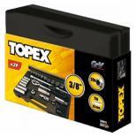 Набор инструментов Topex сменных головок и насадок 3/8, 39 шт. Фото 1