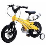 Детский велосипед Miqilong GN Желтый 12` Фото