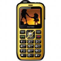 Мобильный телефон Astro B200 RX Black Yellow Фото