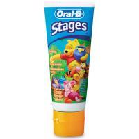 Зубная паста Oral-B Детская Stages Винни 75 мл Фото