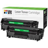 Картридж ColorWay для HP LJ 1010 (Q2612AF/Canon FX-10 Universal) DUA Фото