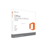 Офисное приложение Microsoft Office 2016 Home and Business Ukrainian DVD P2 Фото