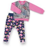Набор детской одежды Breeze с девочкой и штанишками в цветочек Фото