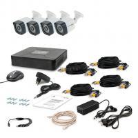 Комплект видеонаблюдения Tecsar AHD 4OUT LIGHT LUX Фото