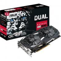 Видеокарта ASUS Radeon RX 580 4096Mb DUAL OC Фото