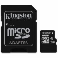 Карта пам'яті Kingston 16GB microSDHC Class 10 UHS-I Фото