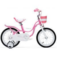 """Детский велосипед Royal Baby LITTLE SWAN 18"""", розовый Фото"""