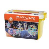 Конструктор Magplayer магнитный набор бокс 55 эл. Фото