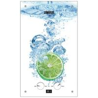 Проточний водонагрівач ZANUSSI GWH 10 Fonte Glass Glass Lime Фото