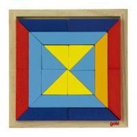 Пазл Goki Мир форм-треугольники Фото