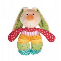 М'яка іграшка Sigikid Погремушка Кролик 15 см Фото