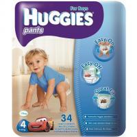 Подгузник Huggies Pants Jumbo 4 Boy (9-14 кг), 34 шт. Фото