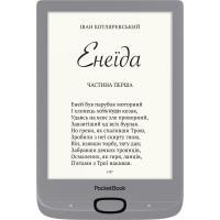 Электронная книга PocketBook 616 Basic Lux2, Silver Фото