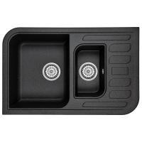 Мийка кухонна MINOLA MPG 75360-78 Антрацит (металлик) Фото