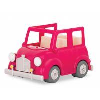 Игровой набор Li'l Woodzeez Розовая машина с чемоданом Фото