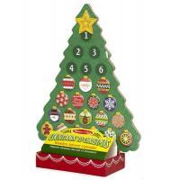Ігровий набір Melissa&Doug Новогодний деревянный магнитный календарь Фото