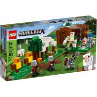 Конструктор LEGO Minecraft Аванпост разбойников 303 детали Фото