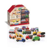 Ігровий набір Guidecraft Набор грузовиков Block Play к Дорожной системе 12 Фото
