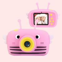 Інтерактивна іграшка XoKo Bee Dual Lens Цифровой детский фотоаппарат розовый Фото