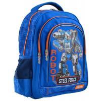 Рюкзак шкільний 1 вересня S-22 Steel Force Фото
