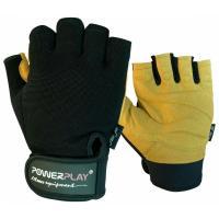 Перчатки для фитнеса PowerPlay 1574 S Black/Brown Фото