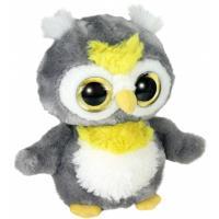 Мягкая игрушка Aurora Yoo Hoo Сова сияющие глаза 23 см Фото