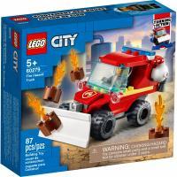 Конструктор LEGO City Fire Пожарный пикап 87 деталей Фото