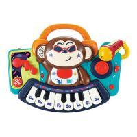Игровой набор Hola Toys Пианино-обезьянка с микрофоном Фото