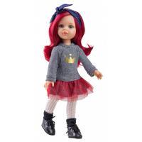 Лялька Paola Reina Даша с красными волосами Фото