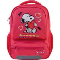 Рюкзак шкільний Kite Kids Peanuts Snoopy розовый Фото