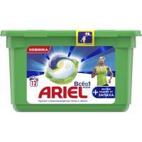Капсули для прання Ariel Pods Все-в-1 + Экстра защита от запаха 12 шт. Фото