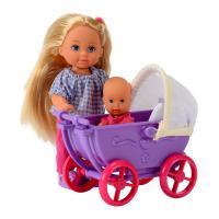 Кукла Simba Эви с малышом в коляске Фото