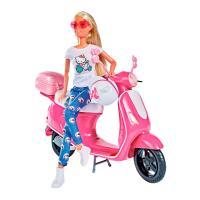 Кукла Simba Штеффи Прогулка на скутере с аксессуарами Фото
